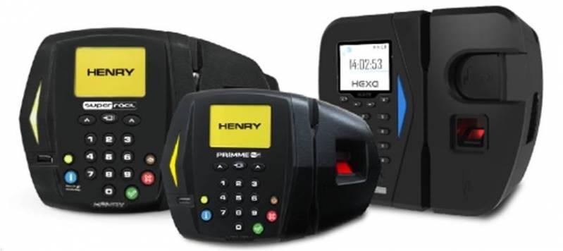 Assistência Técnica de Relógio de Ponto Henry Cachoeirinha - Conserto para Relógio de Ponto