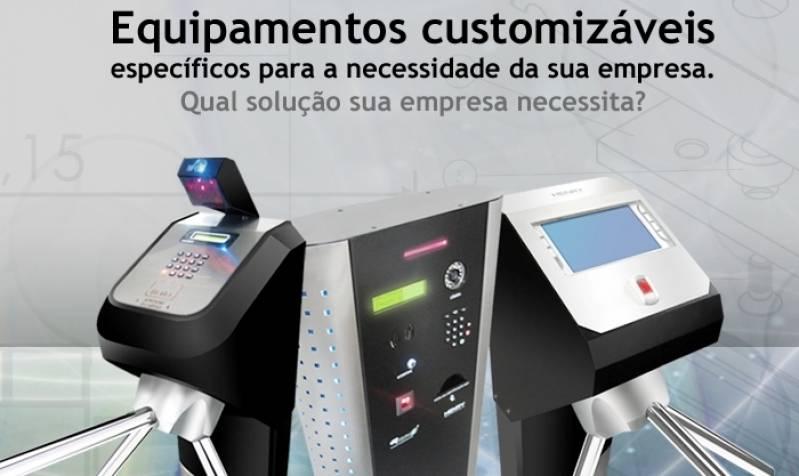 Catraca para Controle de Acesso Vila Curuçá - Catracas de Acesso Biométrico