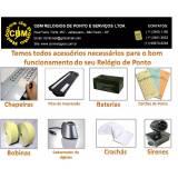 locação de relógio de ponto para empresas preço Itapecerica da Serra
