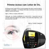 onde encontrar controle de acesso biométrico Ponte Rasa