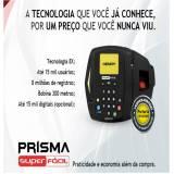 orçamento para relógio de ponto biométrico Parque São Rafael